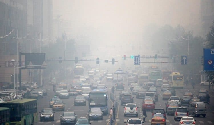 stan powietrza w Polsce w 2015 roku