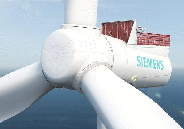 turbina wiatrowa Siemens