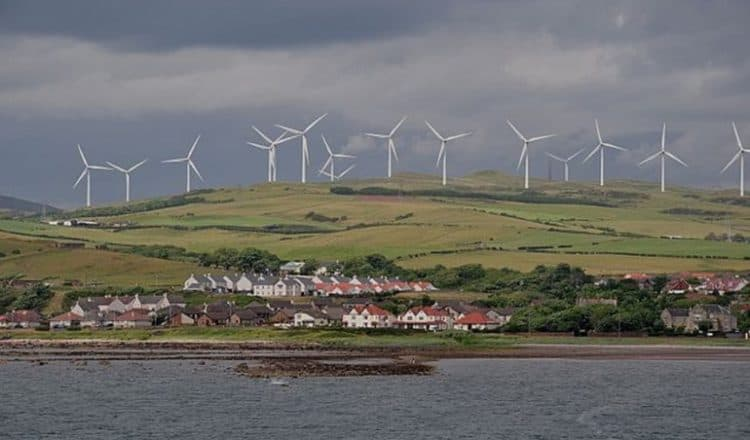 zielona energia podstawą szkockiej energetyki