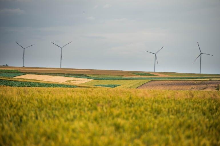 Farmy wiatrowe dostarczyły 1/3 potrzebnej energii