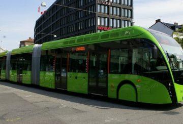 Biogazowe autobusy
