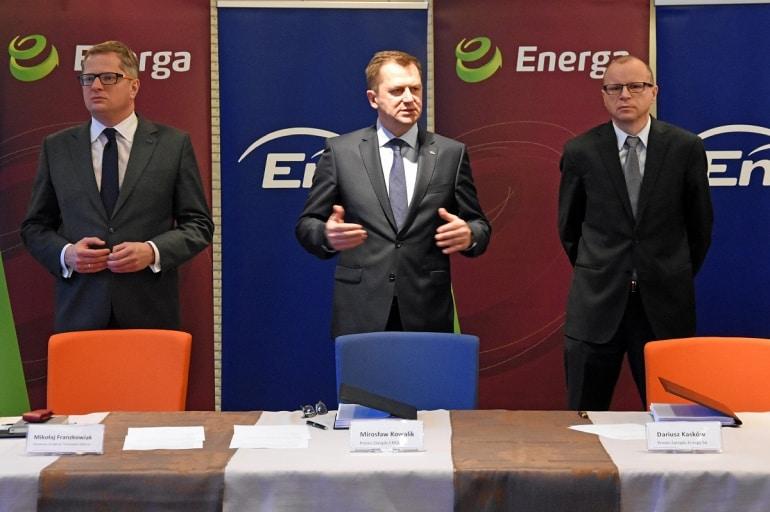 Energa podpisała z Eneą umowę o budowie Elektrowni Ostrołęki C