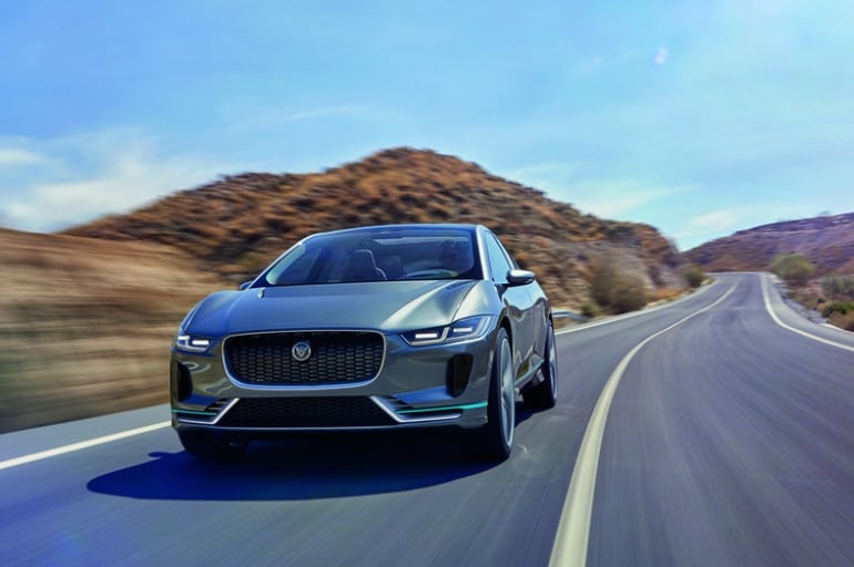 Jaguar prezentuje swój pierwszy elektryczny samochód