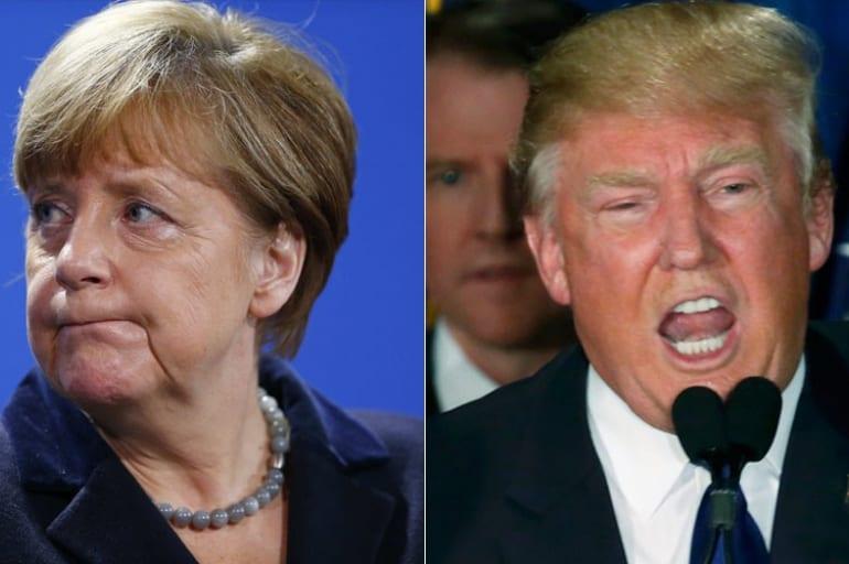 Merkel namówi Trumpa do zmiany zdania o OZE