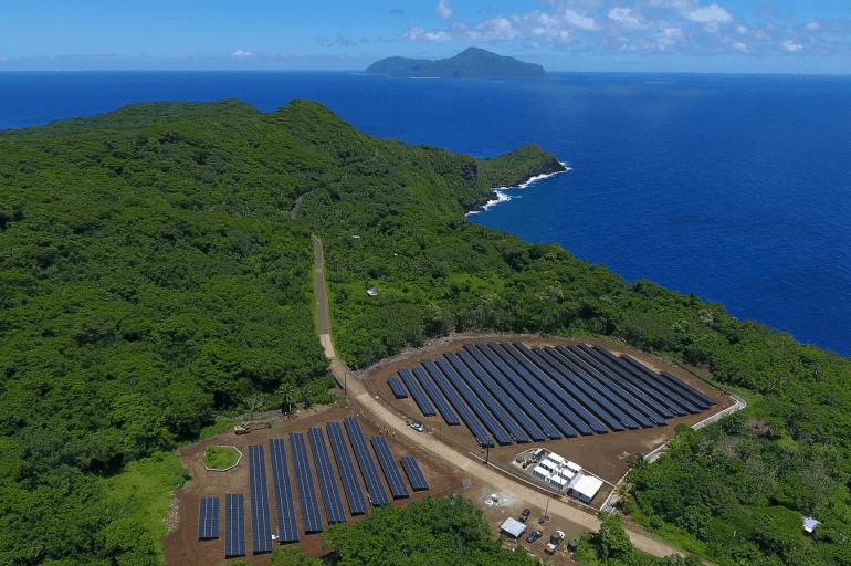 Wyspa w 100% polegająca na OZE