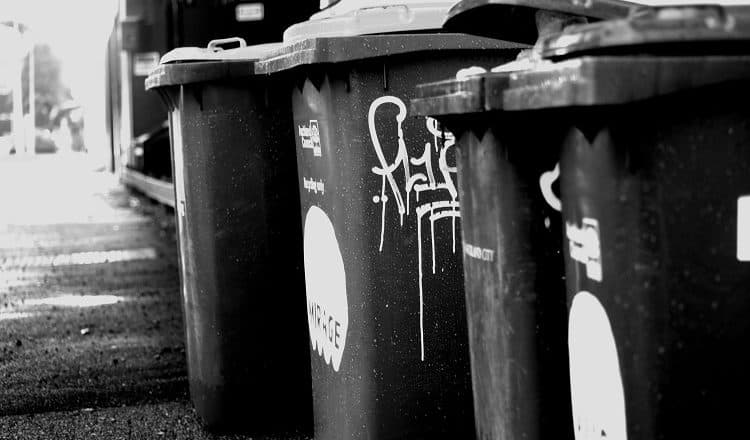 historia kosza na śmieci