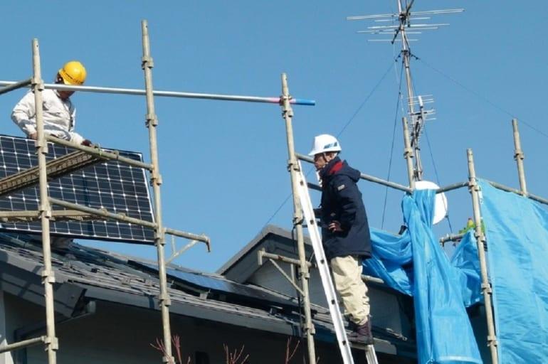 projekt PV w Japonii
