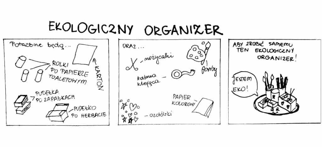ekologiczny organizer
