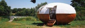 drewniany dom kempingowy