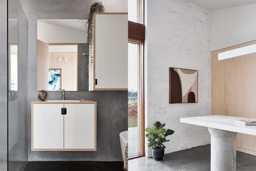 10 Star Home by The Sociable Weaver, 10 Star Home by Clare Cousin Architects, 10 Star Home by The Sociable Weaver and Clare Cousin Architects, carbon positive architecture, carbon positive and zero waste, 10 Star Home The Cape, Cape Paterson display home, 10 Star Home Victoria