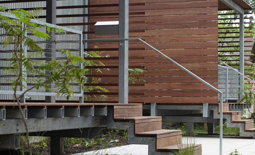 Affordable housing, duplex in Kansas City, Design+Make Studio, El Dorado Inc., Studio Build, low-income housing, Kansas City, Kansas State University, open-plan layout, green architecture, natural light