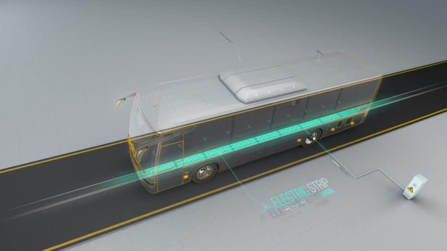 ElectRoad, electric road, electric roads, bus, public transportation, transportation