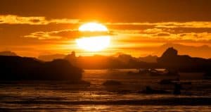 iceberg, arctic, clime change