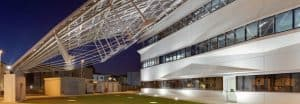 Arval headquarters, self-sufficient building, Florence, Pierattelli Architetture, zero-emissions, green office buildings, Climate House, solar power, geothermal power, solar panels, photovoltaics