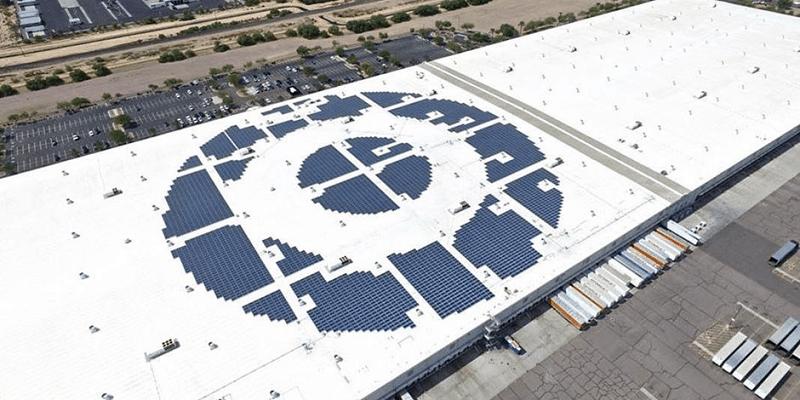 solar-panel-install-target-distribution-center
