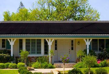 Solaria, Solaria PowerXT, solar panel, solar panels, black solar panels, home, solar home