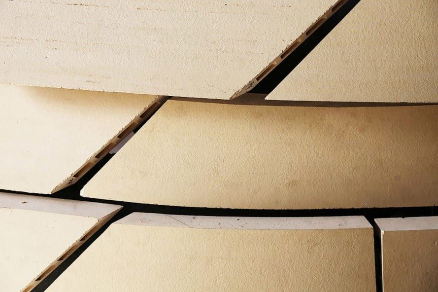 Terracotta, Team Morphosis, ribboned panels, ribboned terracotta panels, natural ventilation, rain screen, evaporative cooling