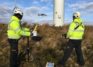 UK drone success for Cyberhawk image