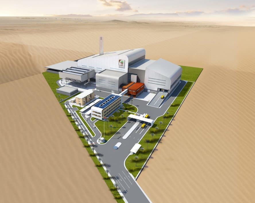 Dubai, waste-to-energy, Dubai waste-to-energy plant, waste-to-energy plant, facility, building