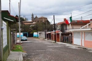 Ucareo, Mexico, Michoacán, town, street, village