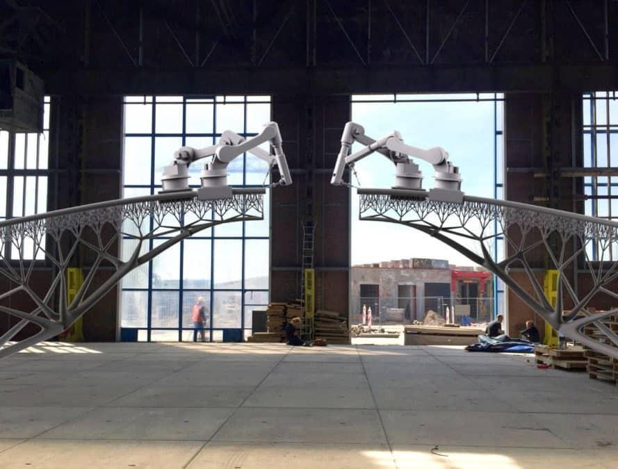 3D-Printed Steel Bridge, Heijmans, 3d printer, 3d printing, 3d-printed architecture, green building, sustainable design, green design, building technology, 3d-printed building, green technology, 3d printed design