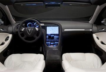 Tesla Model S wnętrze