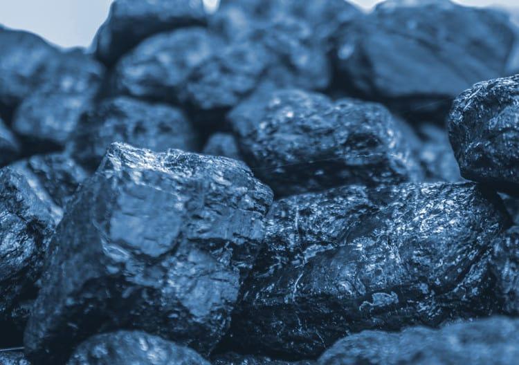 błękitny węgiel