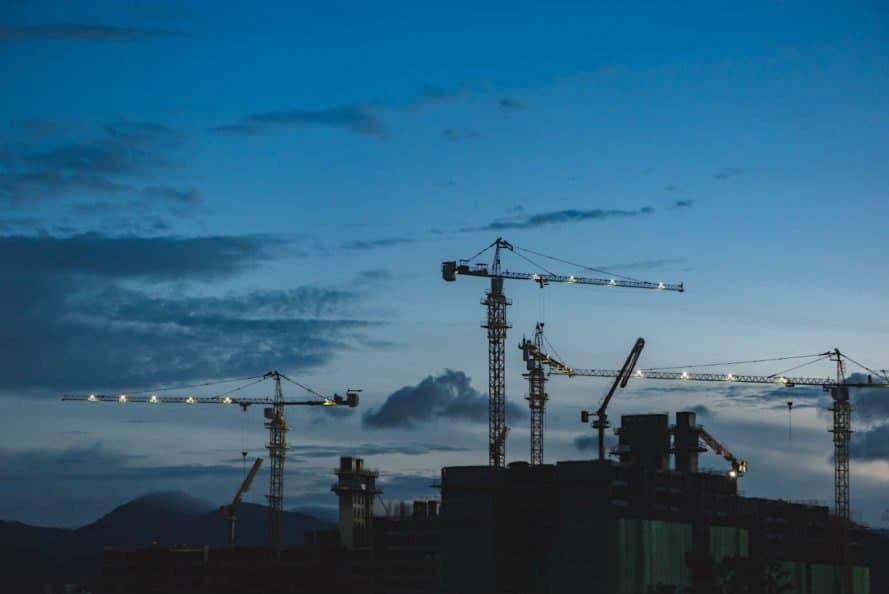 construction work, building materials, contracting work