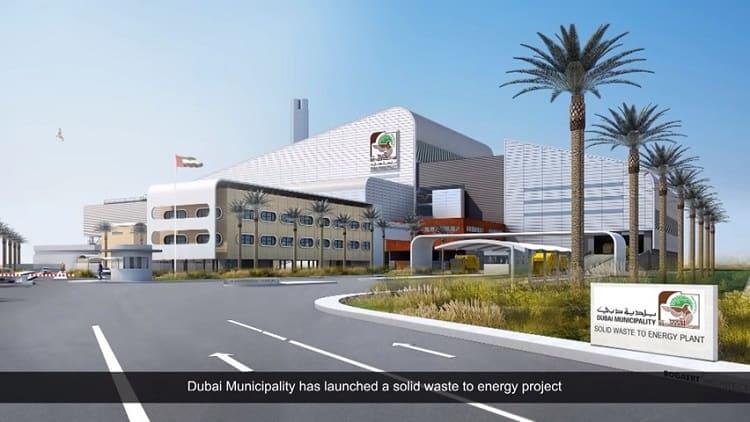 spalarnia odpadów w Dubaju