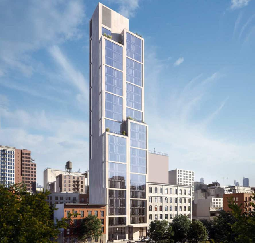 Image of the exterior of 570 Broome in New York City.