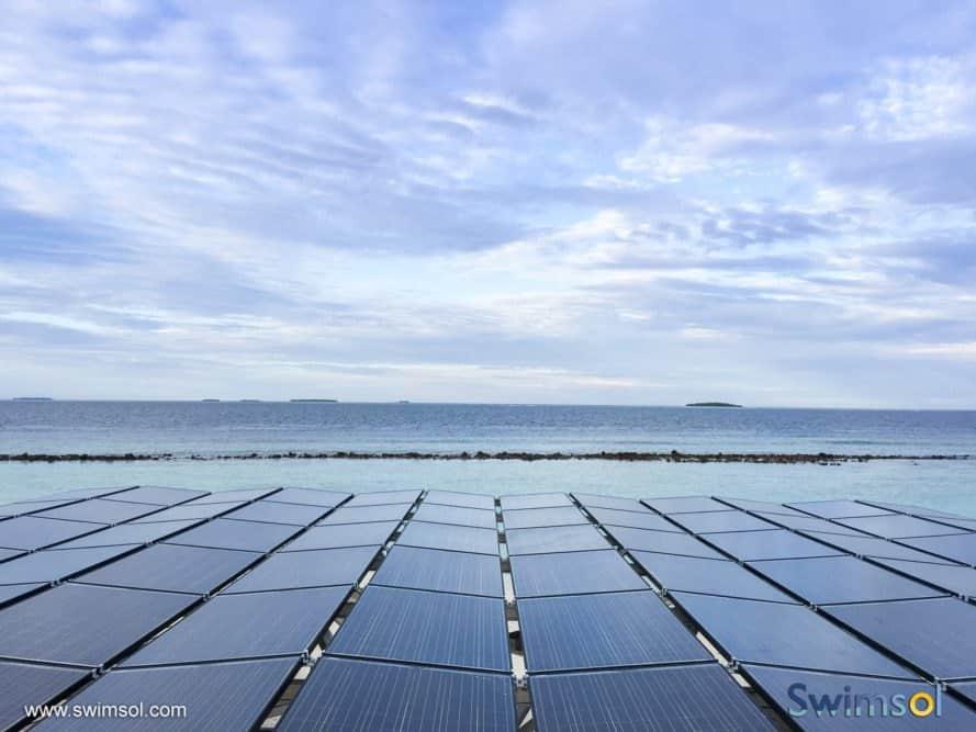 Swimsol, SolarSea, floating solar, solar power, solar energy, renewable energy, solar panels