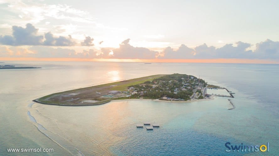 Swimsol, SolarSea, floating solar, solar power, solar energy, Maldives, renewable energy, island