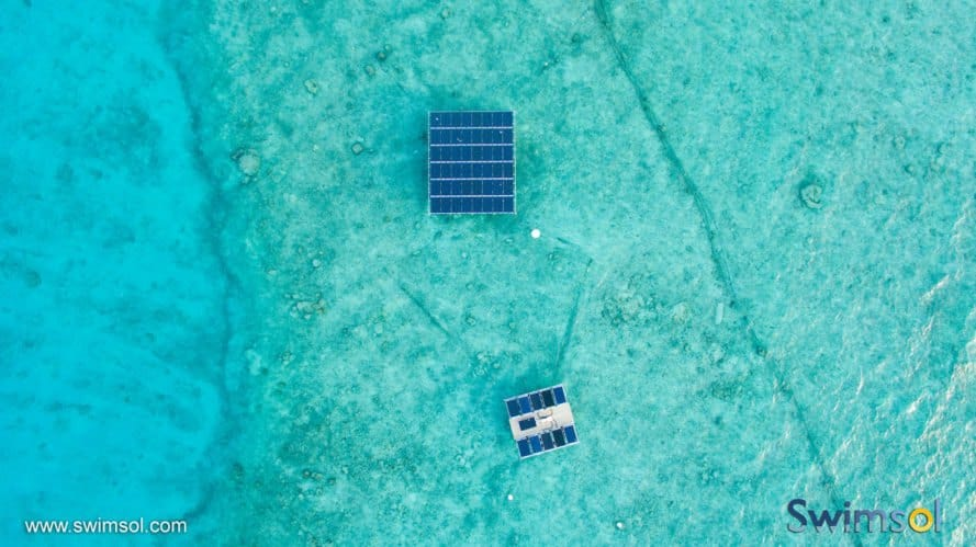 Swimsol, SolarSea, floating solar, solar power, solar energy, Maldives, renewable energy