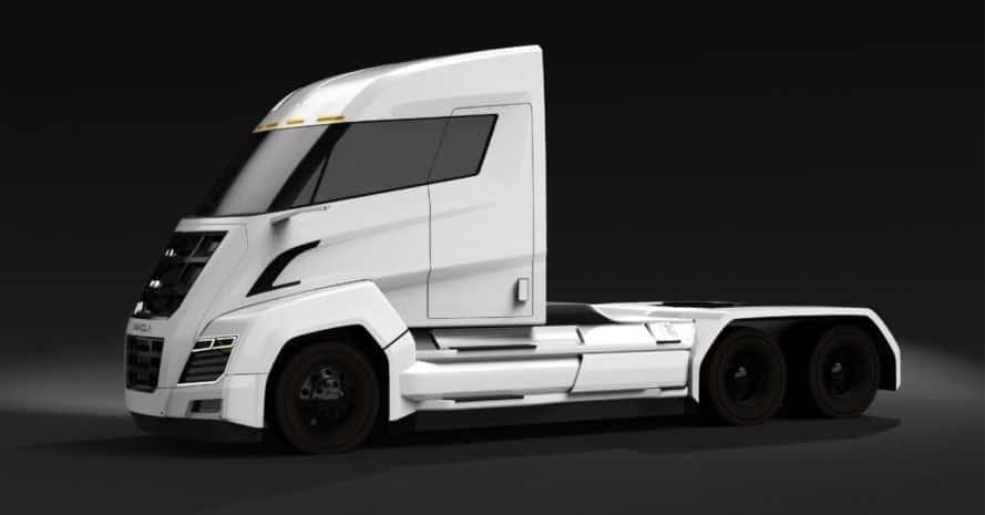 The Nikola Two hydrogen-electric semi truck