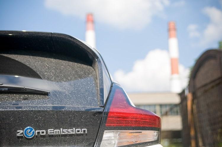 Nissan Leaf - zeroemission elektryk elektryczny