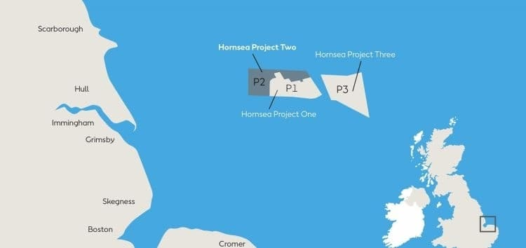 More deals struck for Hornsea Project Two offshore windfarm