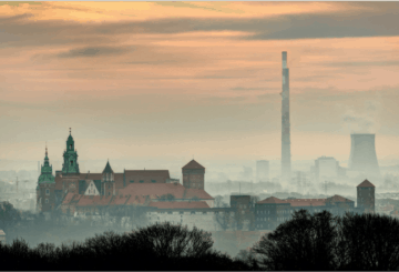 smog w krakowie