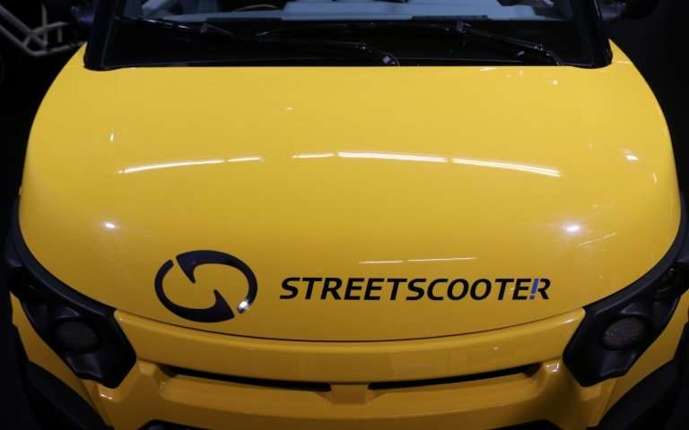 """Deutsche Post CEO Frank Appel said in June that he aims to keep Streetscooter within the group """"at least for the next two y"""