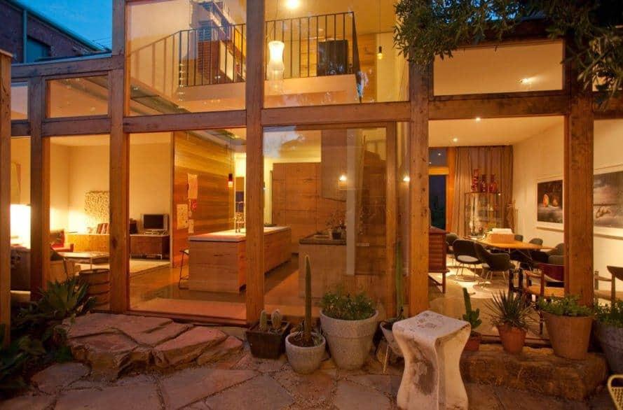 Interior living quarters