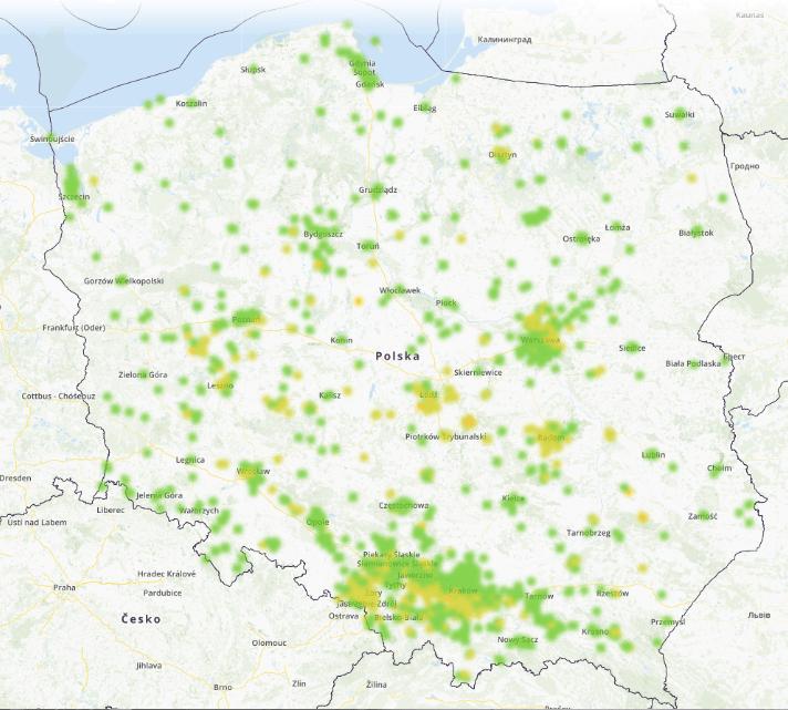 mapa smog