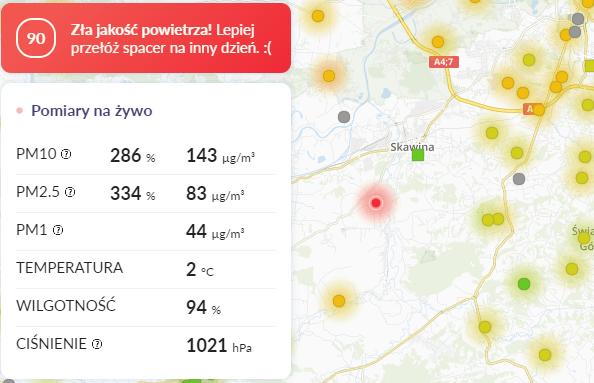 smog Rzozów
