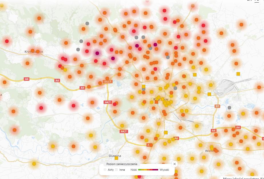 26.01 smog Kraków