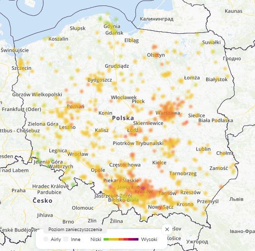 26.01 smog Polska