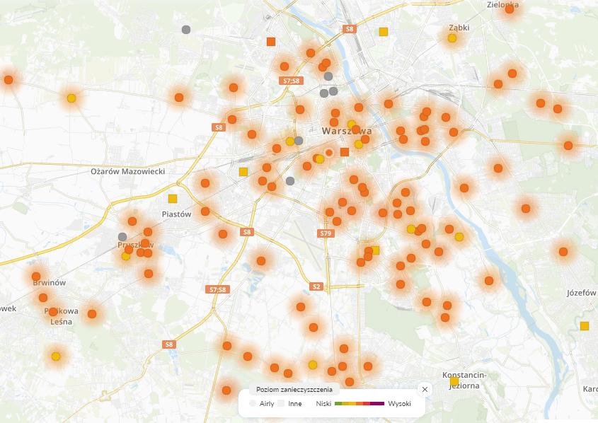 26.01 smog Warszawa