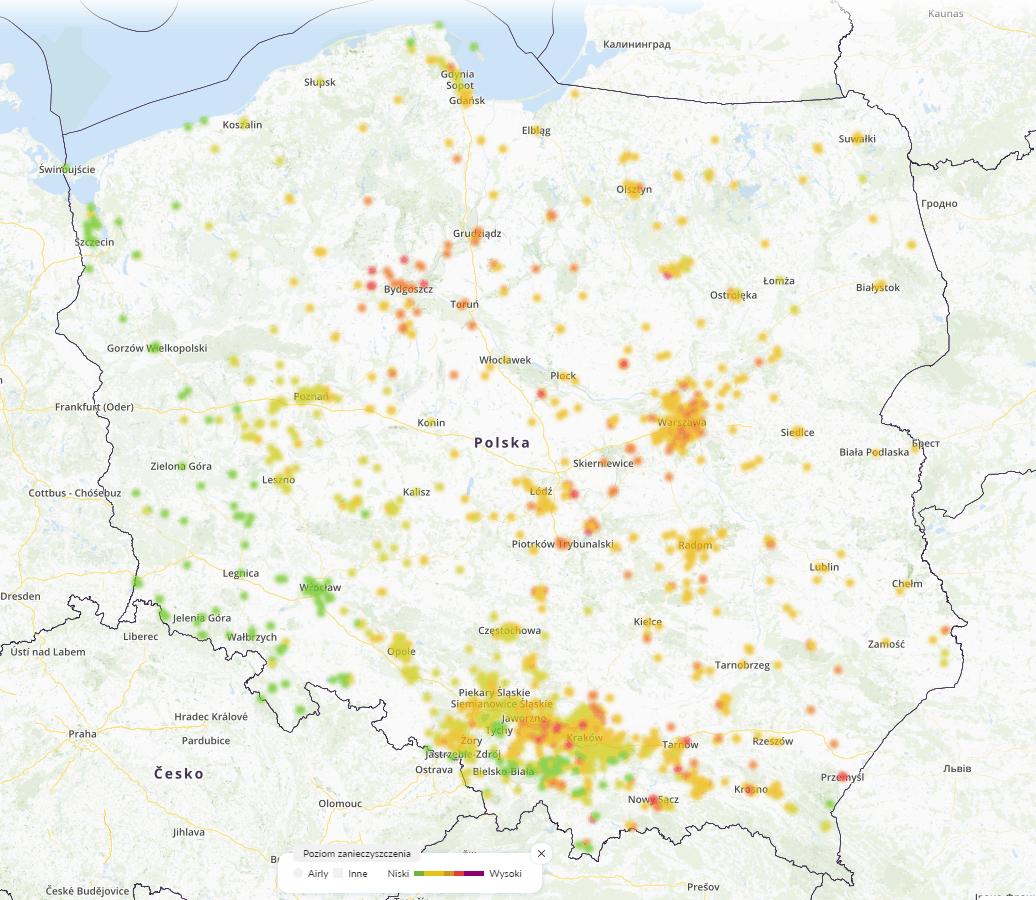 29.01 smog Polska