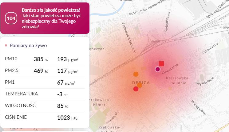 07.02. smog Dębica