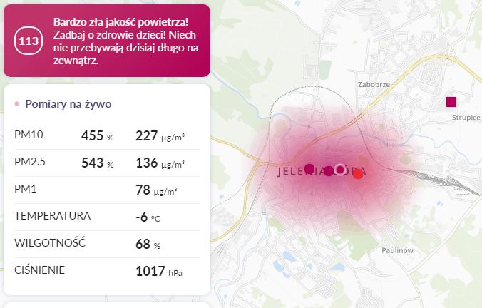07.02. smog Jelenia Góra