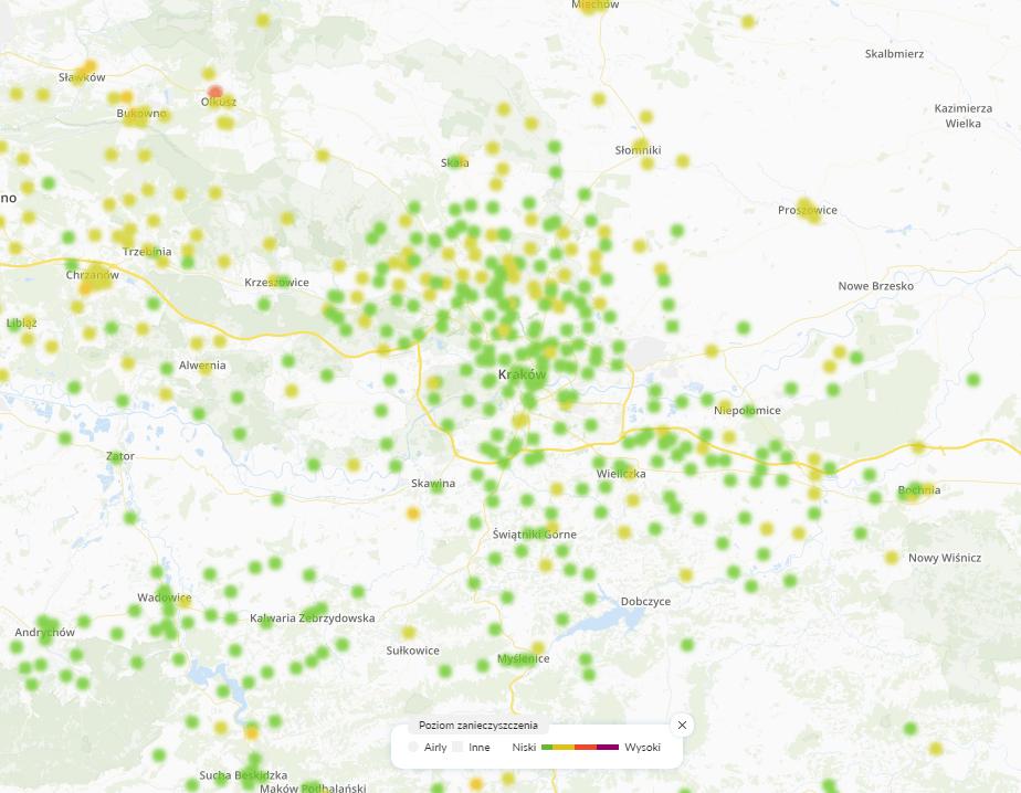 11.02. smog Kraków