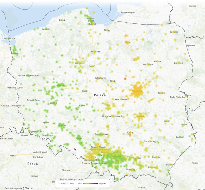 11.02. smog polska