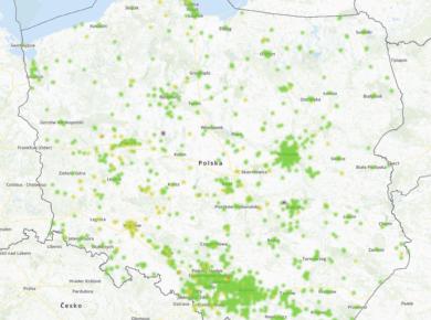 22.02. smog Polska